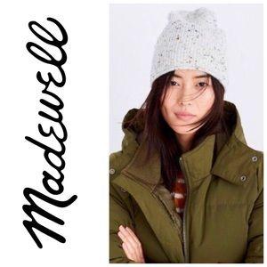 Madewell Snowfall Knit Beanie NWT